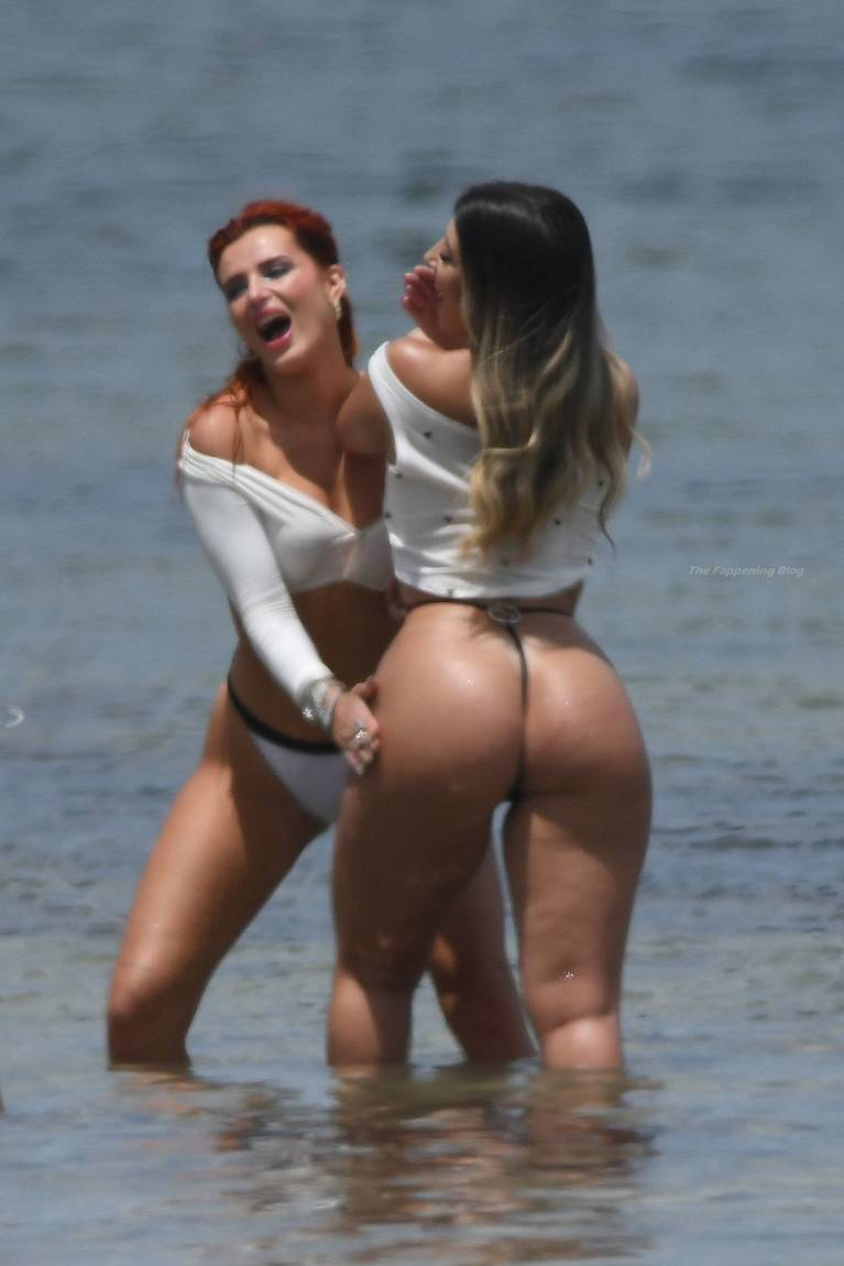 Bella Thorne on Beach Bikini Photoshoot 1
