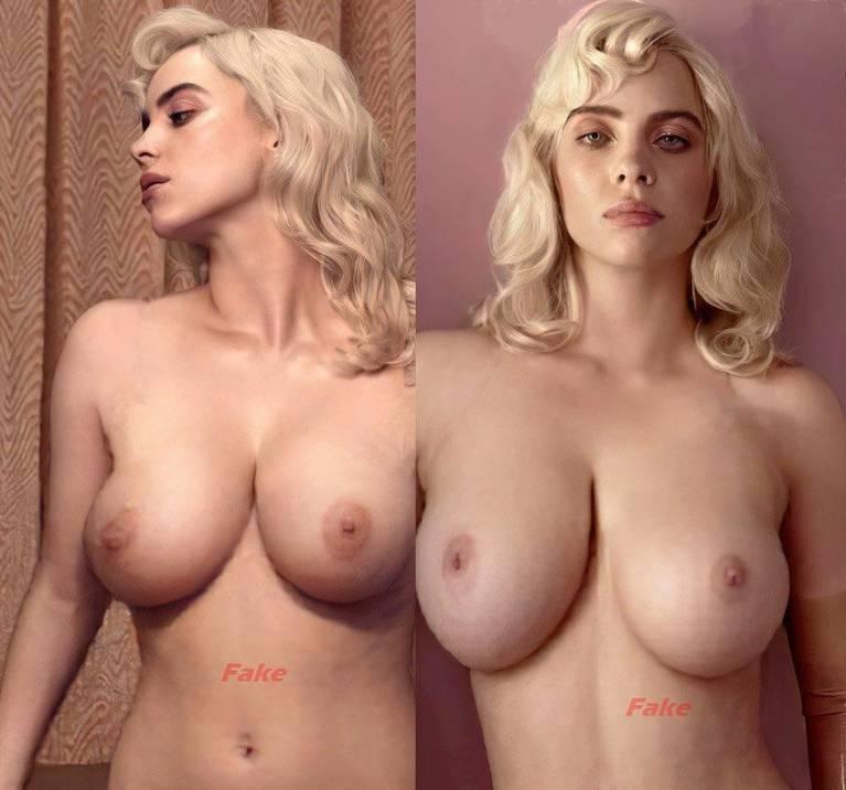 Billie Eilish Nude 1