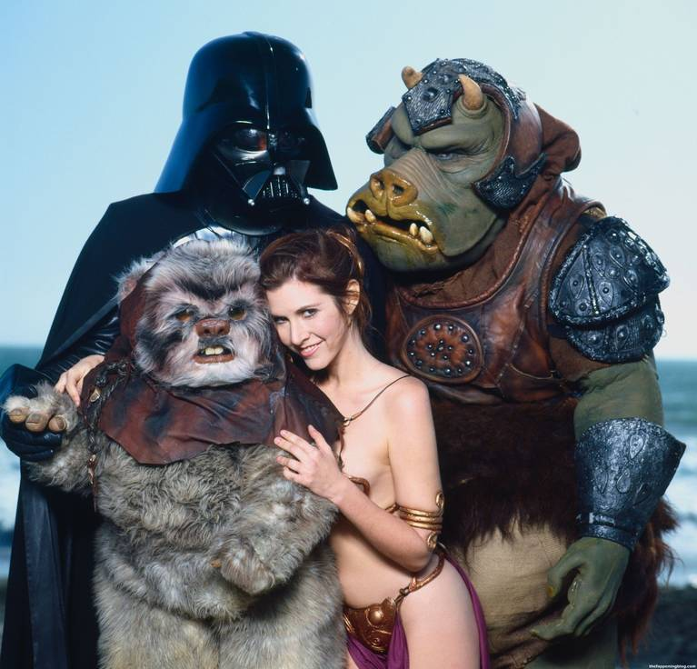 Carrie Fisher Sexy 7