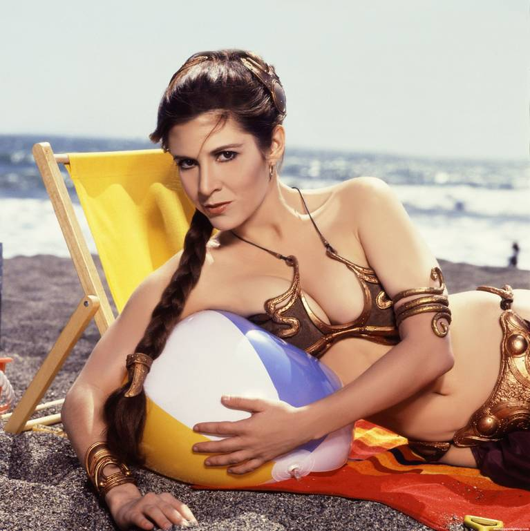 Carrie Fisher Sexy 12