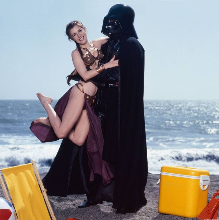 Carrie Fisher Sexy 14