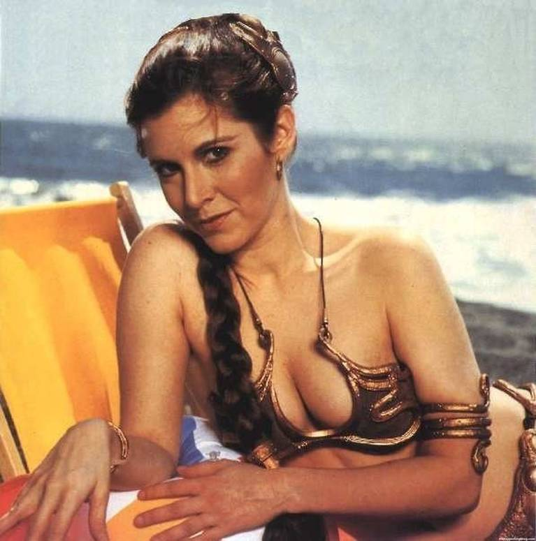 Carrie Fisher Sexy 22