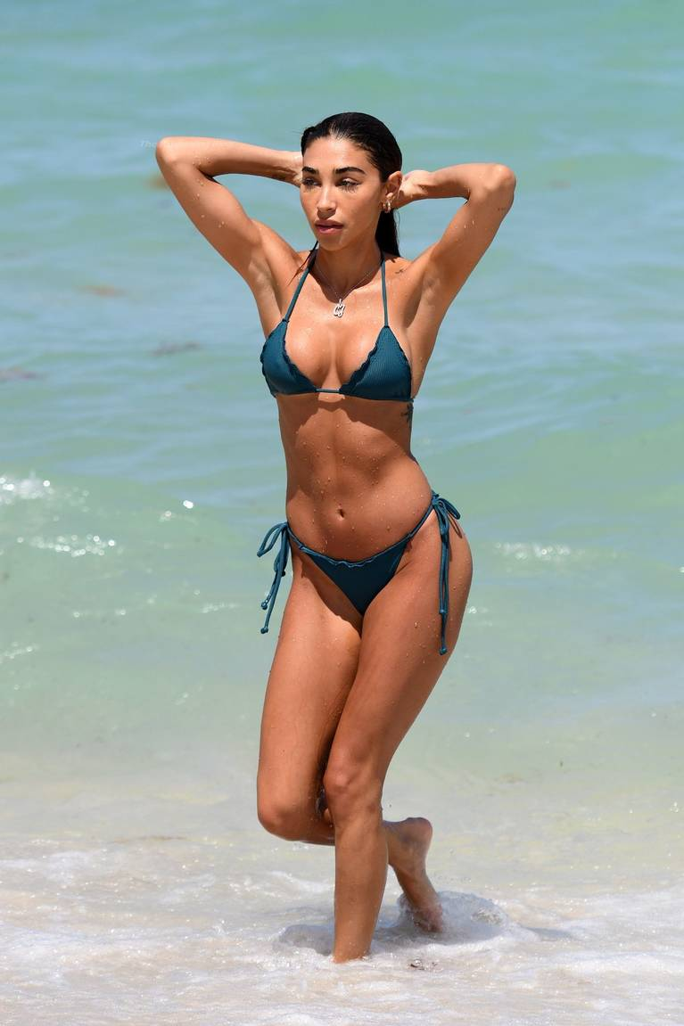Chantel Jeffries on Beach Bikini 1
