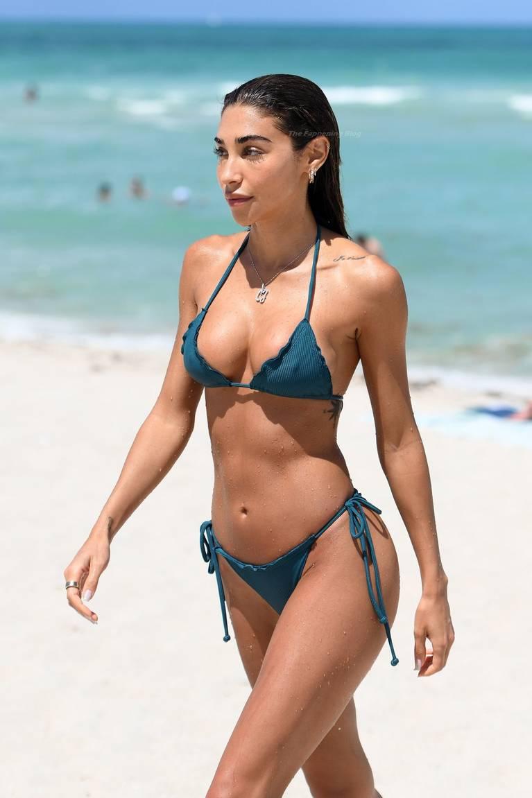 Chantel Jeffries on Beach Bikini 5