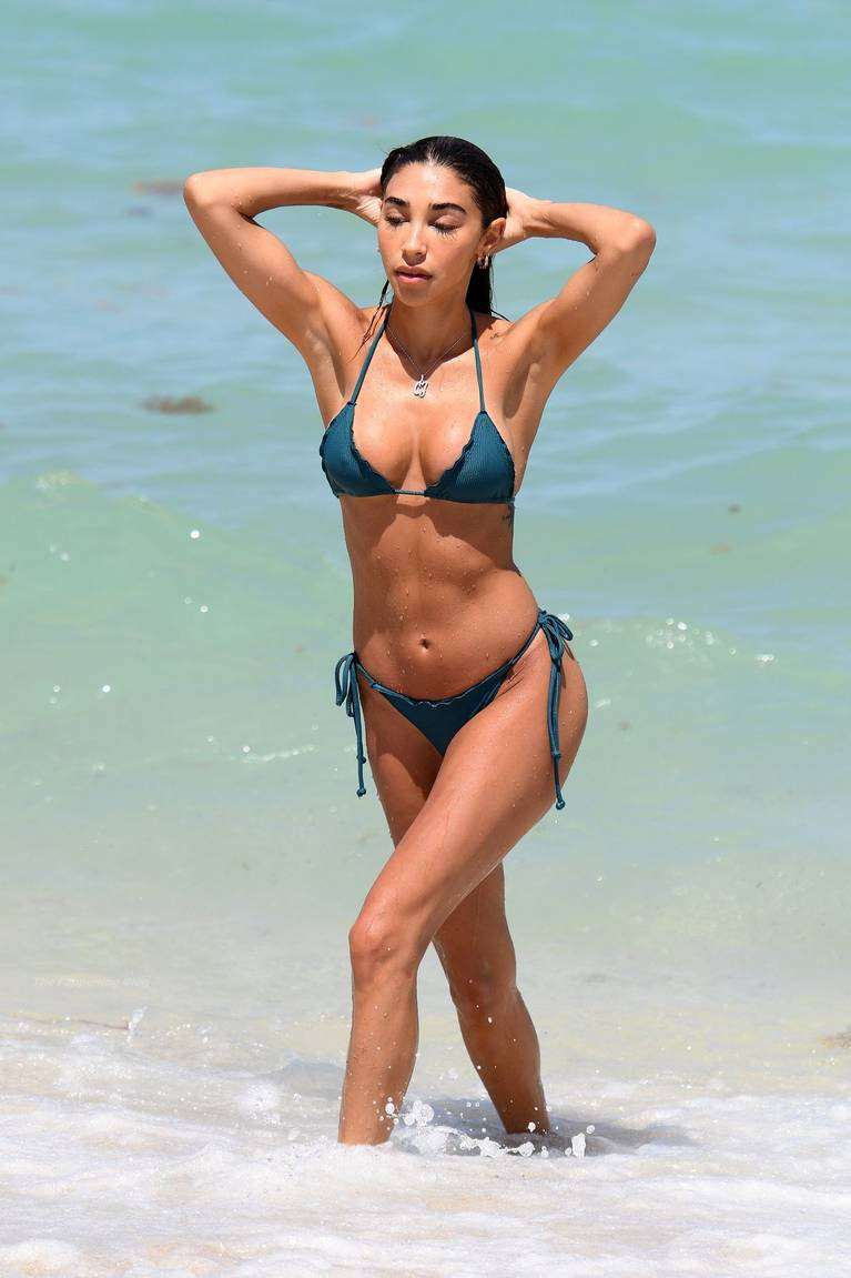 Chantel Jeffries on Beach Bikini 7