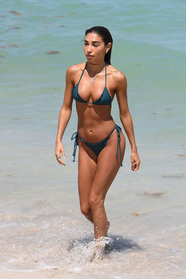 Chantel Jeffries on Beach Bikini 9