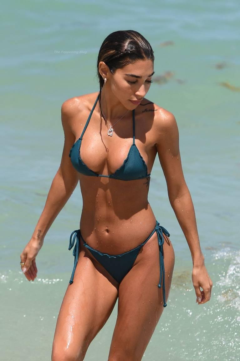 Chantel Jeffries on Beach Bikini 11