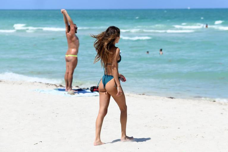Chantel Jeffries on Beach Bikini 13