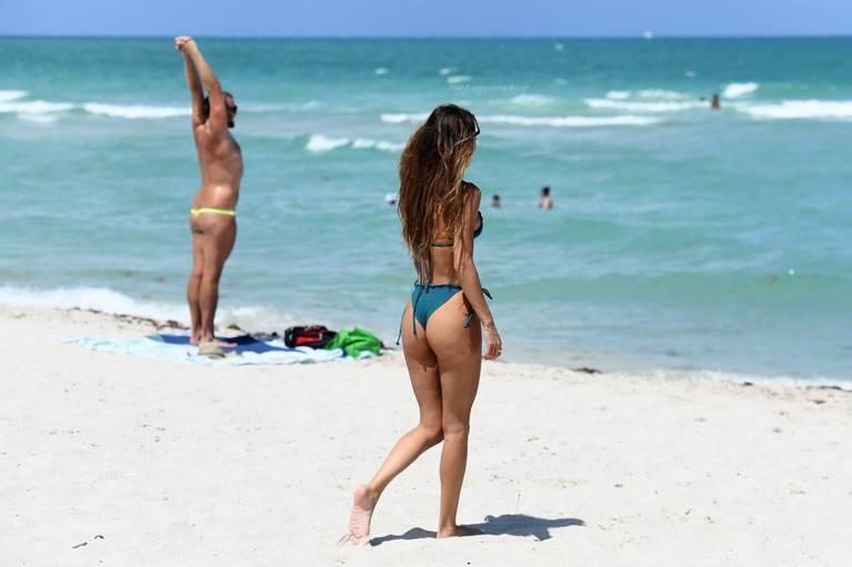 Chantel Jeffries on Beach Bikini 15
