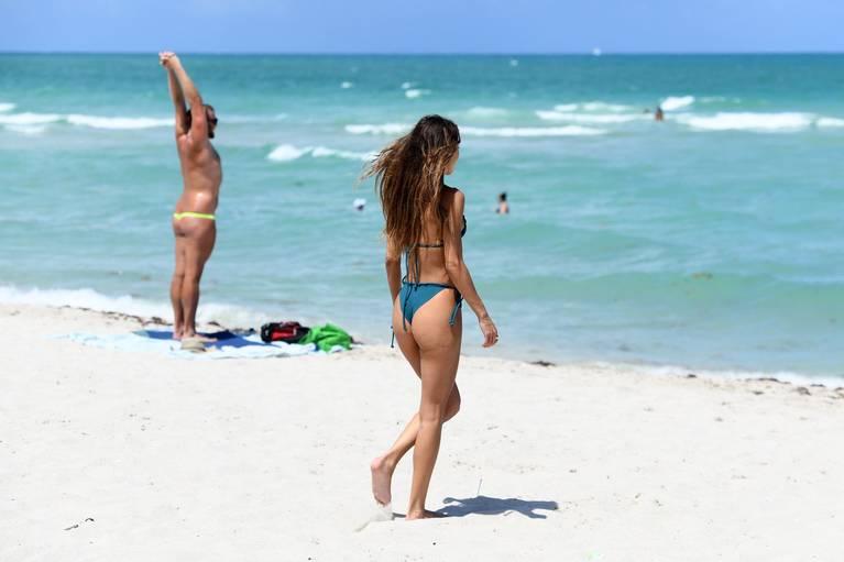 Chantel Jeffries on Beach Bikini 16