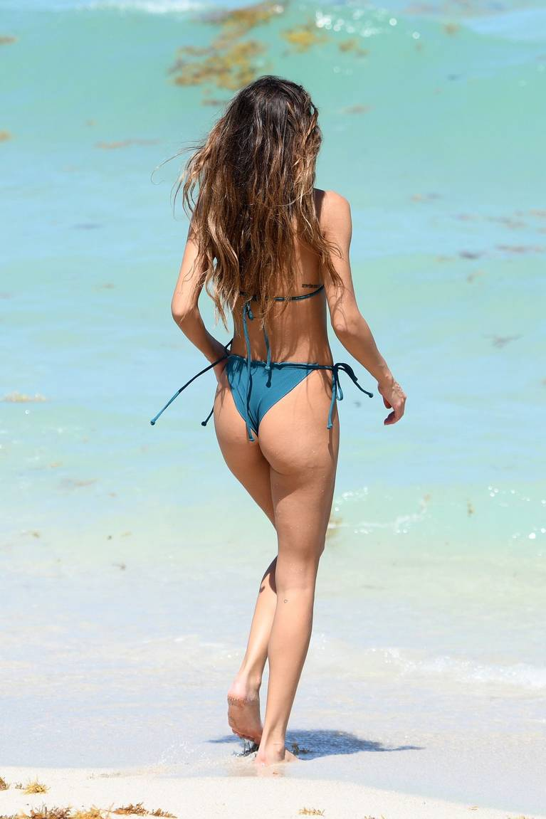 Chantel Jeffries on Beach Bikini 18