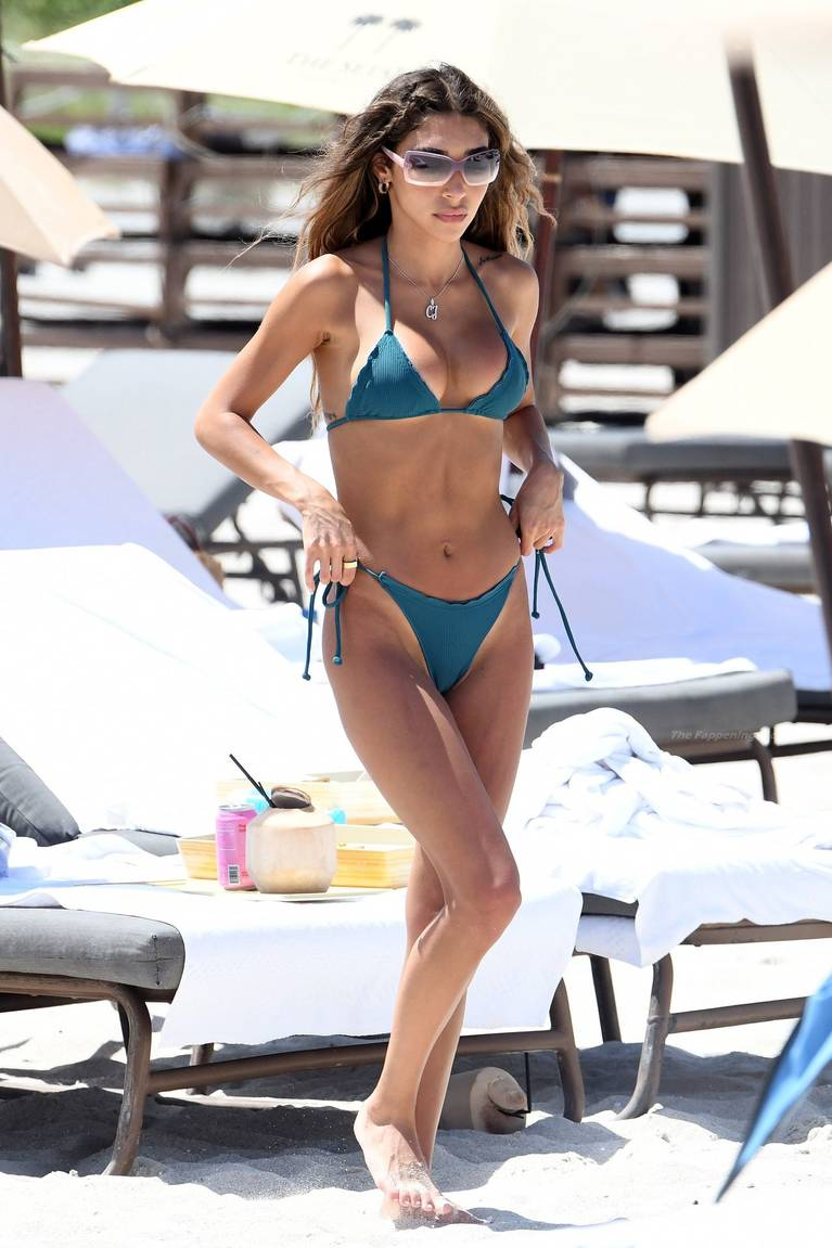 Chantel Jeffries on Beach Bikini 19