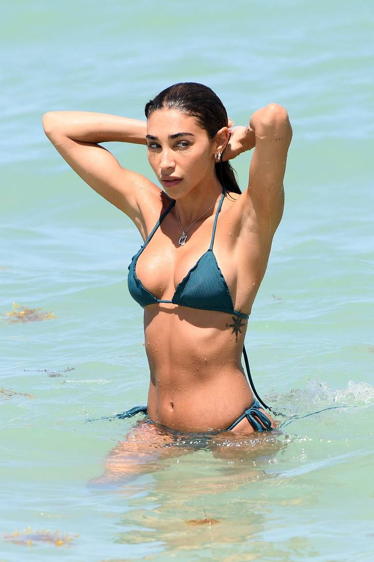 Chantel Jeffries on Beach Bikini 28