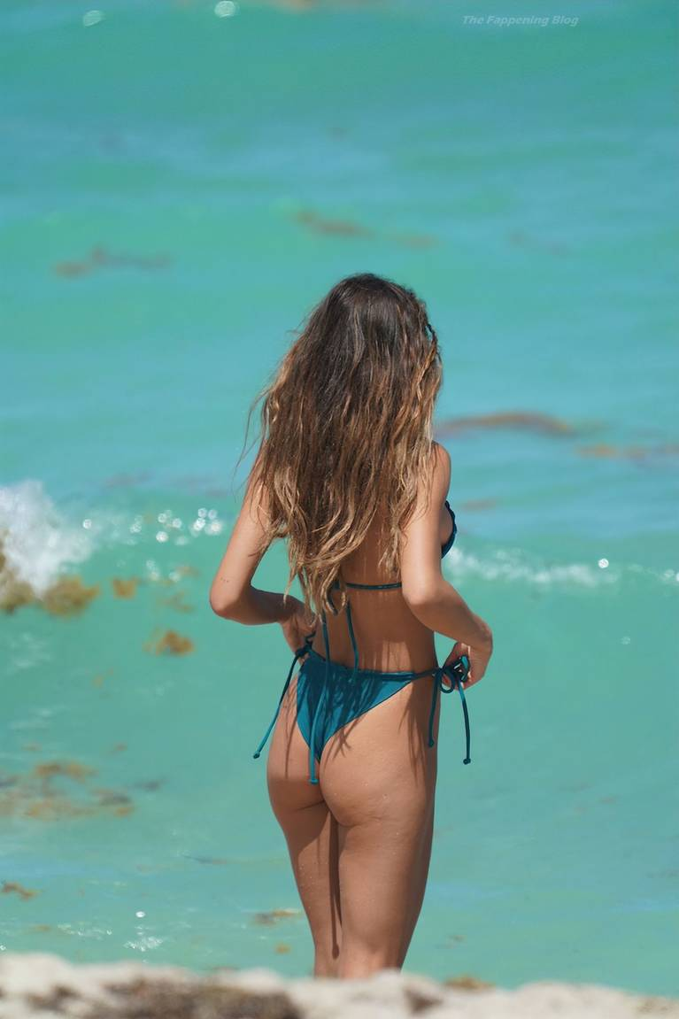 Chantel Jeffries on Beach Bikini 36