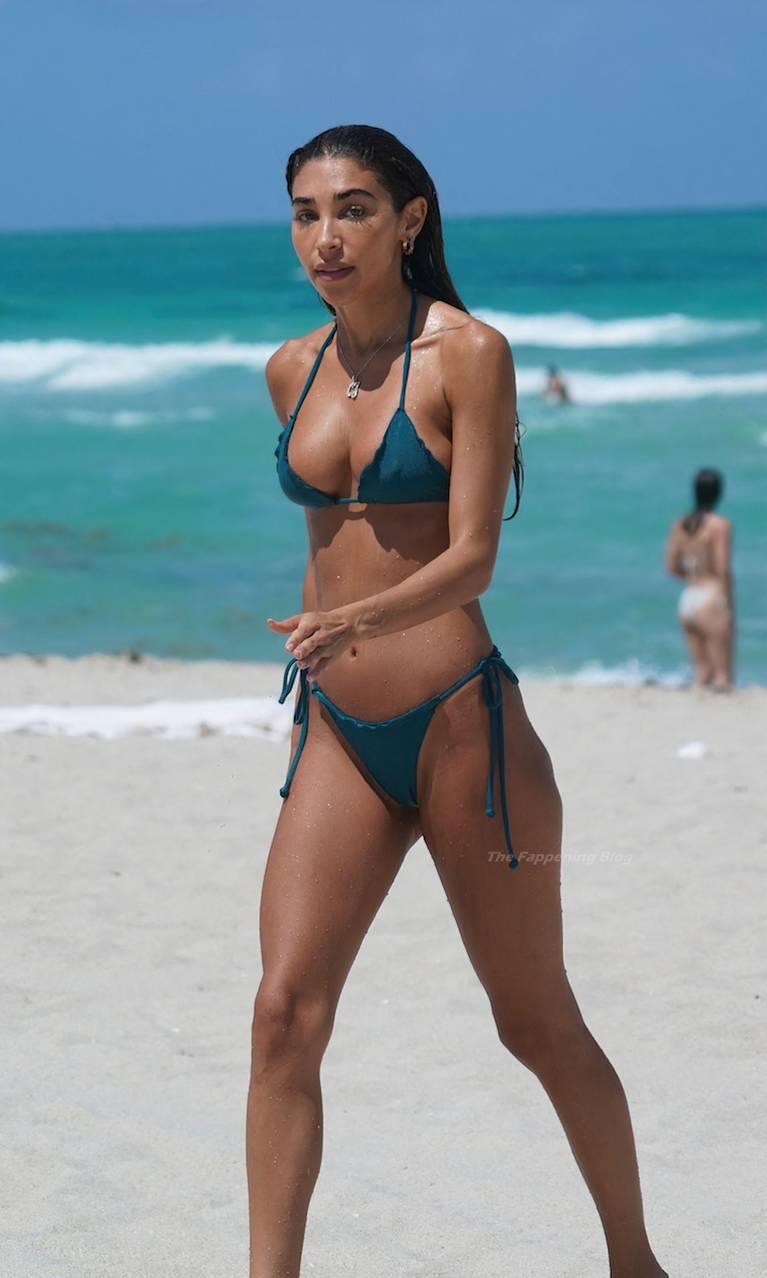 Chantel Jeffries on Beach Bikini 46