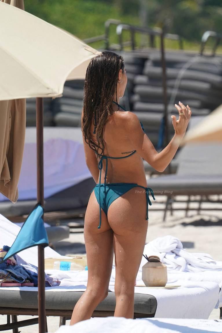 Chantel Jeffries on Beach Bikini 48