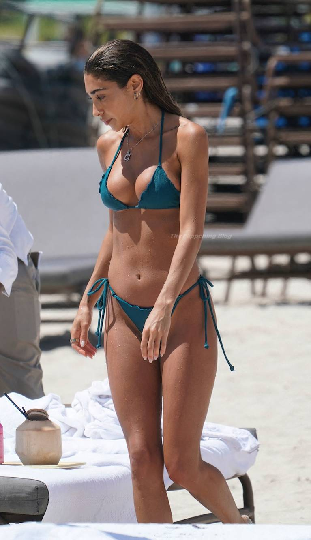 Chantel Jeffries on Beach Bikini 49