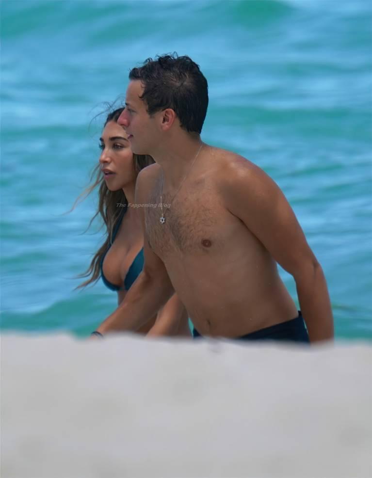Chantel Jeffries on Beach Bikini 54