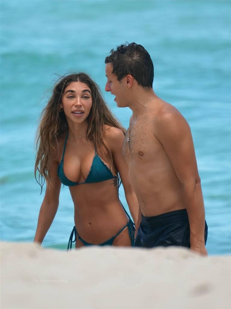 Chantel Jeffries on Beach Bikini 56