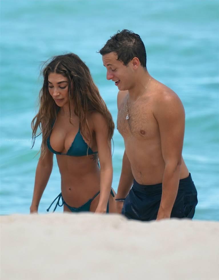 Chantel Jeffries on Beach Bikini 57