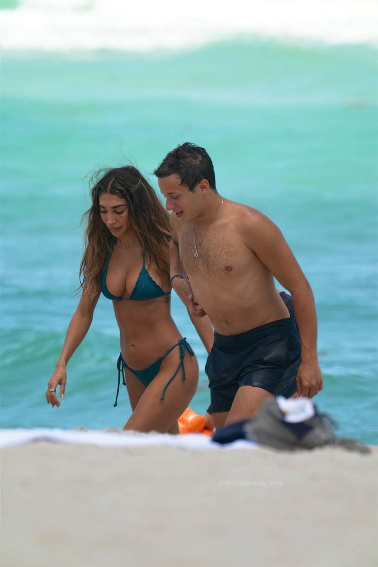 Chantel Jeffries on Beach Bikini 59
