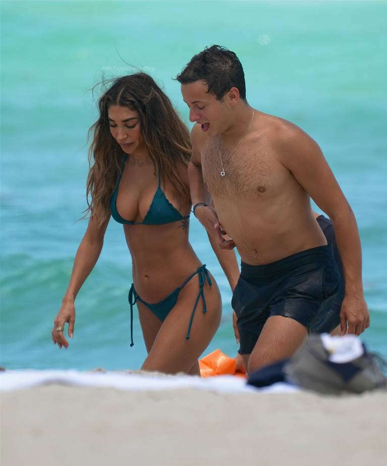 Chantel Jeffries on Beach Bikini 60