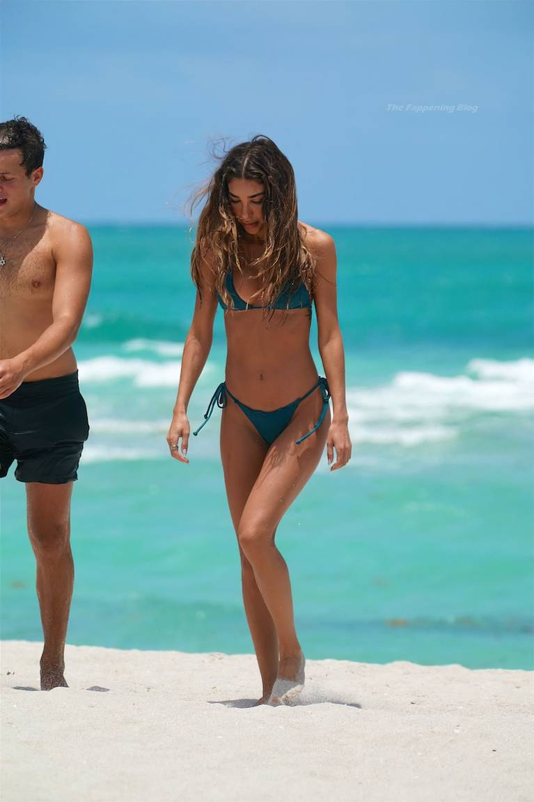 Chantel Jeffries on Beach Bikini 67