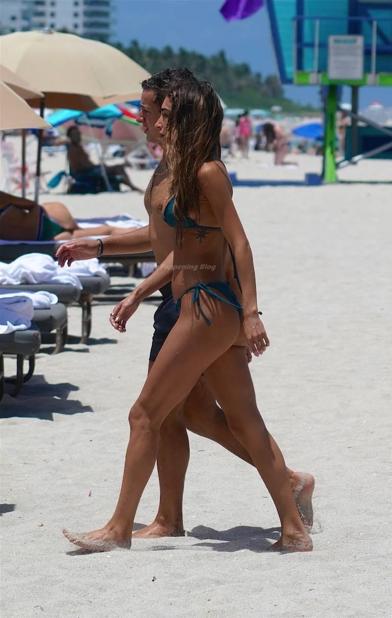 Chantel Jeffries on Beach Bikini 69