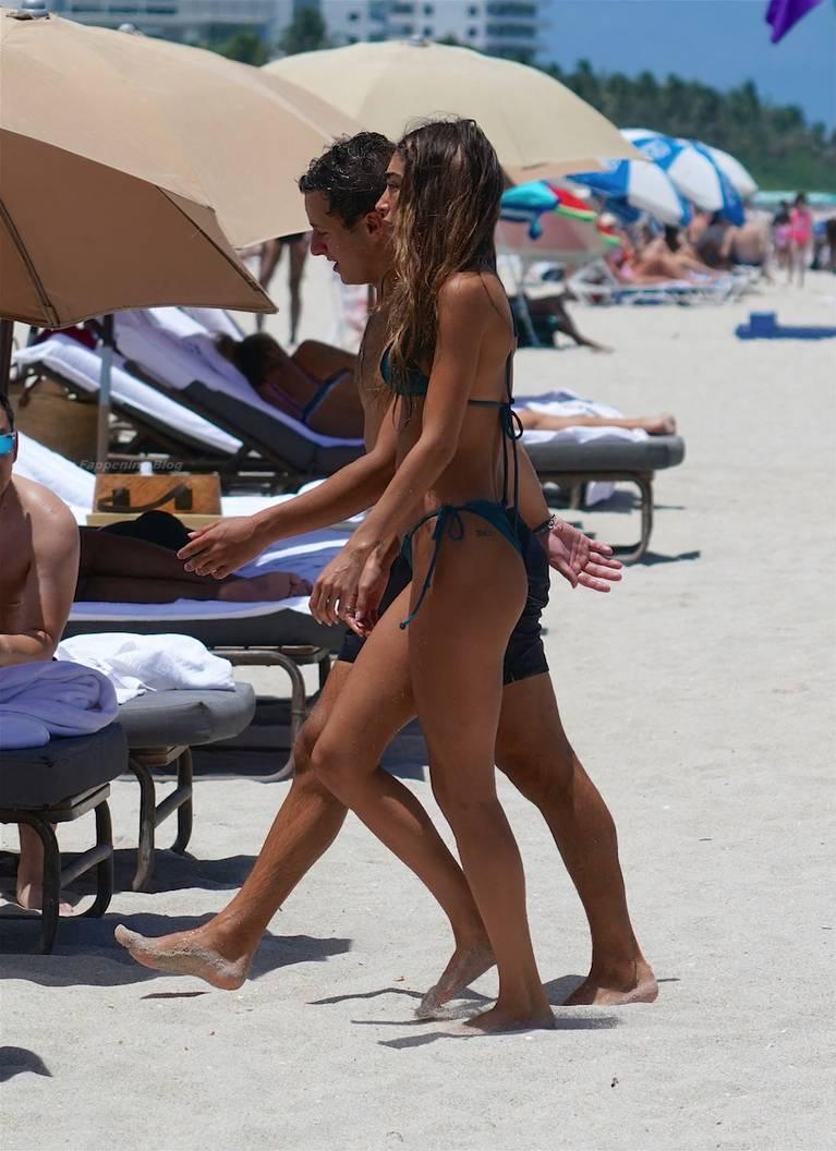 Chantel Jeffries on Beach Bikini 70