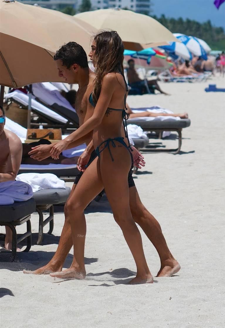 Chantel Jeffries on Beach Bikini 71