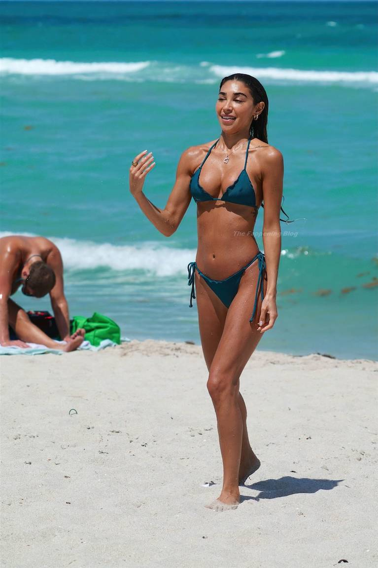 Chantel Jeffries on Beach Bikini 78