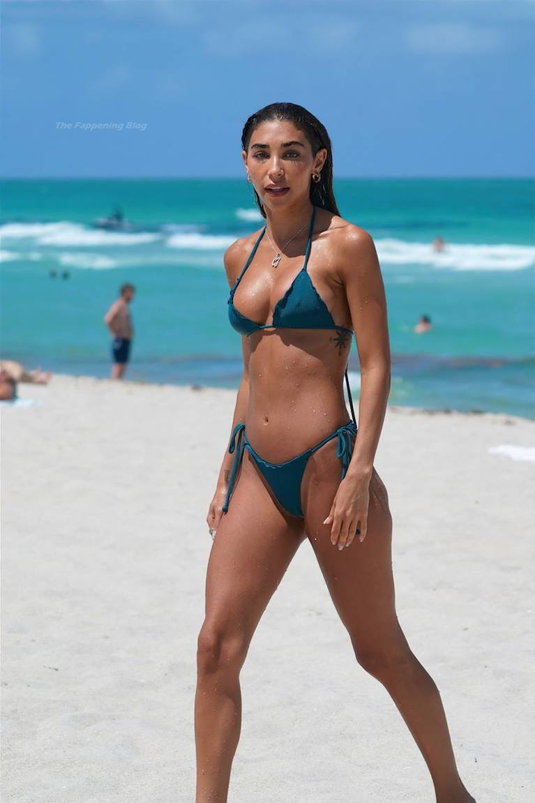 Chantel Jeffries on Beach Bikini 82