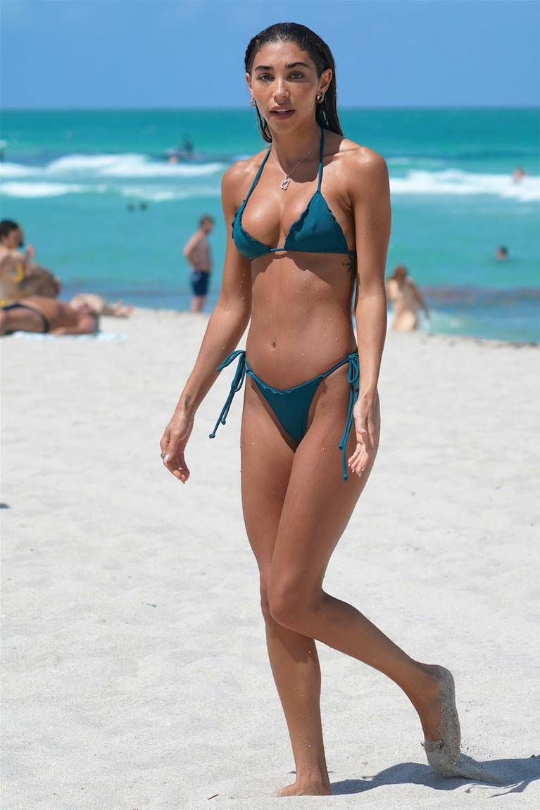 Chantel Jeffries on Beach Bikini 83