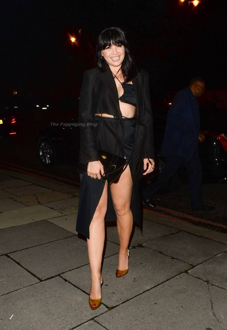 Daisy Lowe Sexy Legs 6