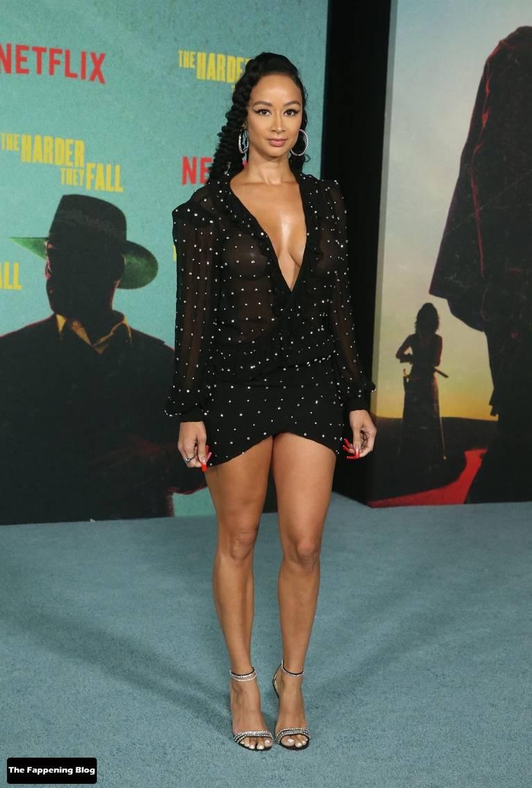 Draya Michele Sexy Tits Legs 3