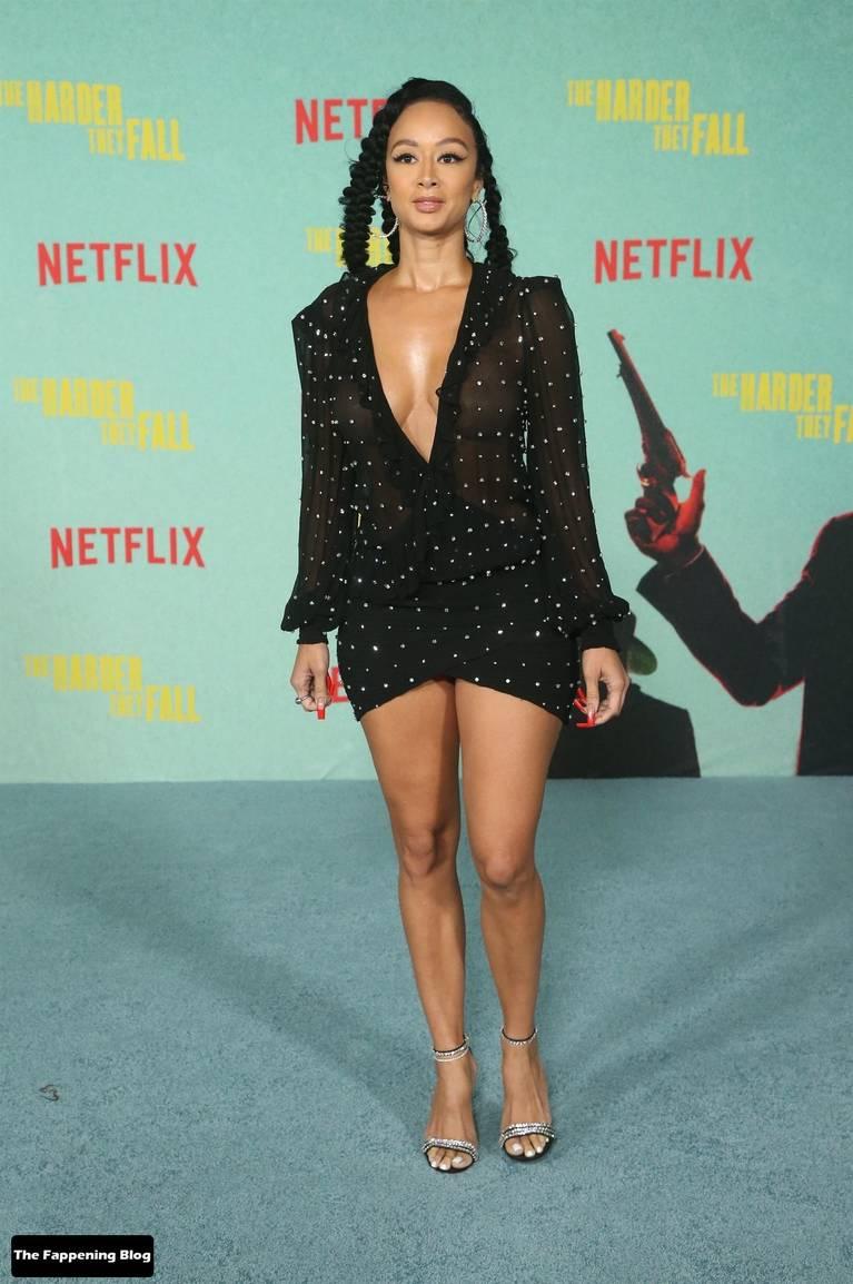 Draya Michele Sexy Tits Legs 6