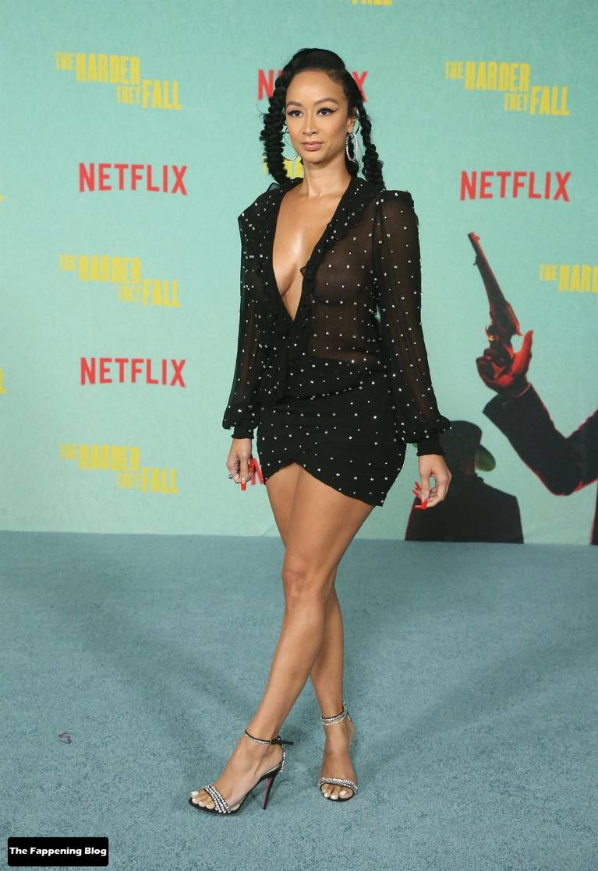 Draya Michele Sexy Tits Legs 7