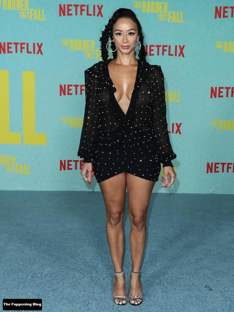 Draya Michele Sexy Tits Legs 11