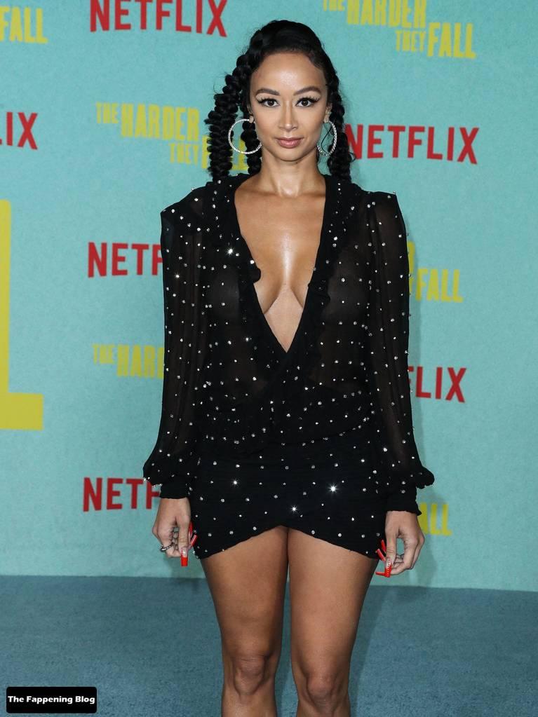 Draya Michele Sexy Tits Legs 12