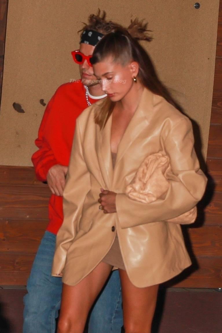 Hailey Baldwin Dress 16