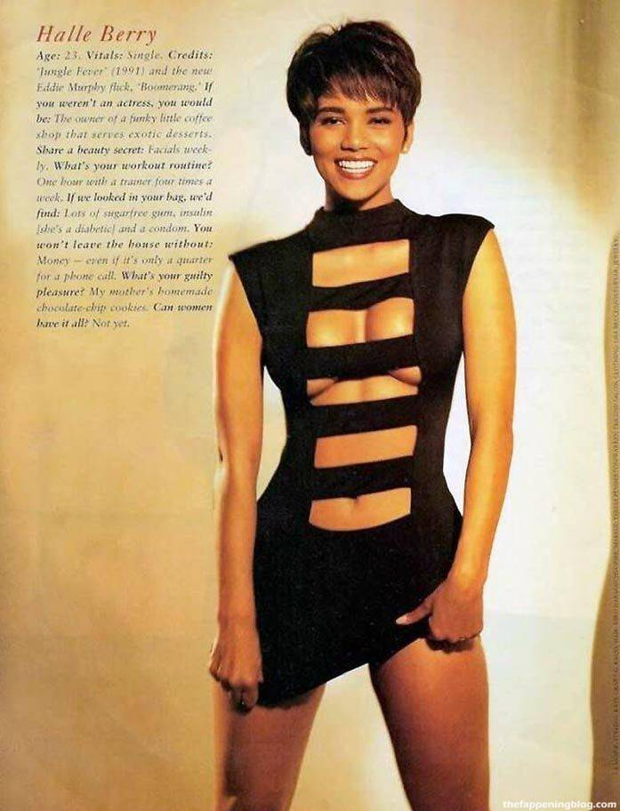 Halle Berry Naked Sexy 100