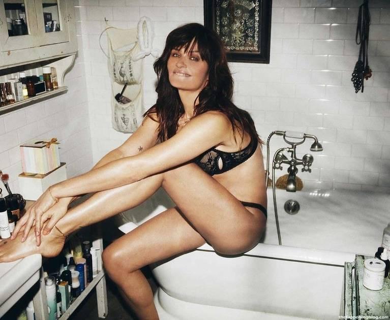 Helena Christensen Sexy Lingerie 4
