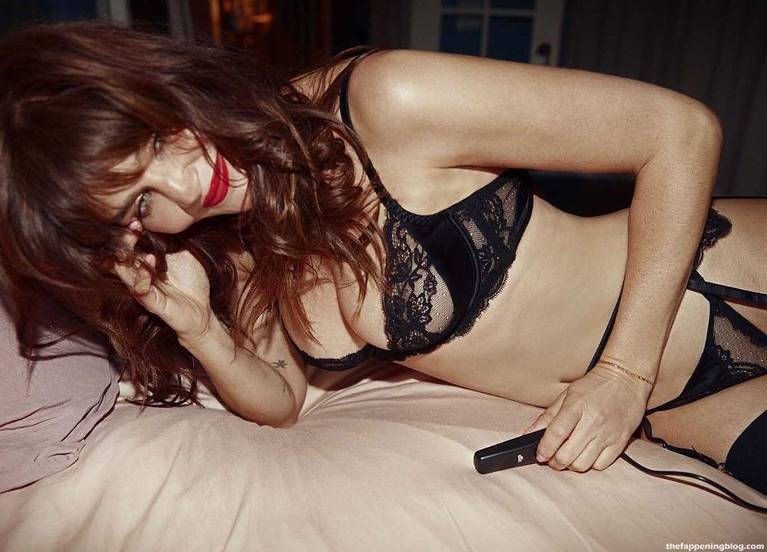 Helena Christensen Sexy Lingerie 5