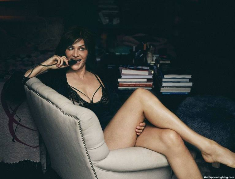 Helena Christensen Sexy Lingerie 8