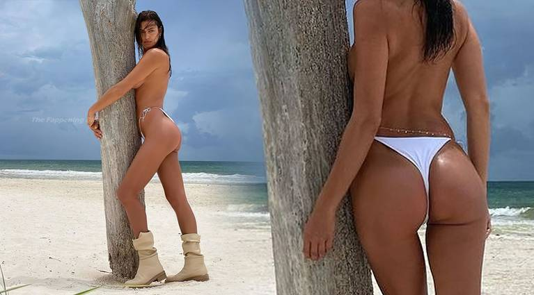 Irina Shayk Topless 1
