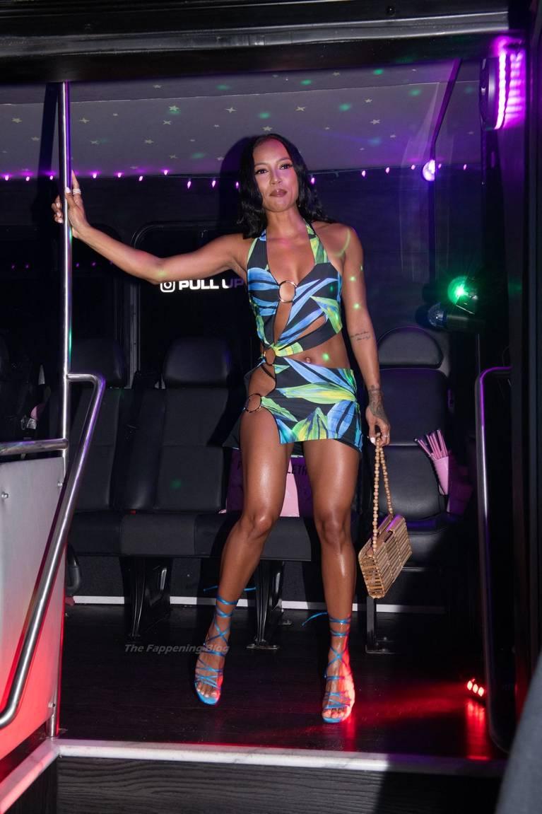 Karrueche Tran Dress 23