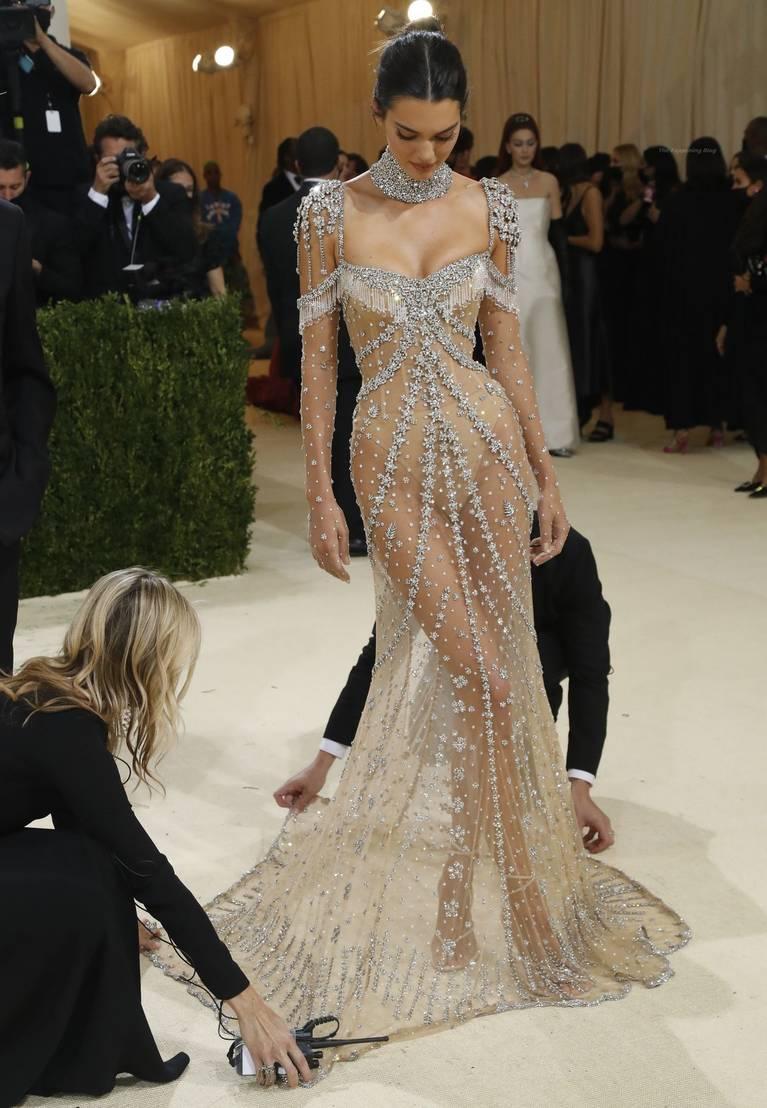Kendall Jenner Naked Dress 5