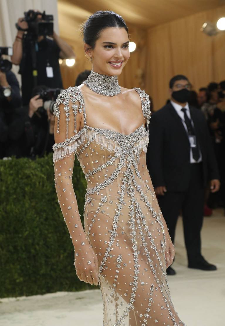 Kendall Jenner Naked Dress 6