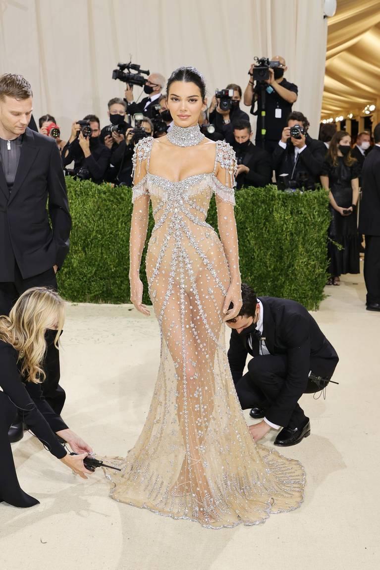 Kendall Jenner Naked Dress 9