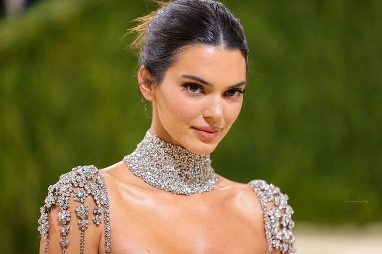 Kendall Jenner Naked Dress 19